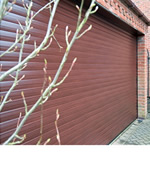 electric operated roller shutter garage doors
