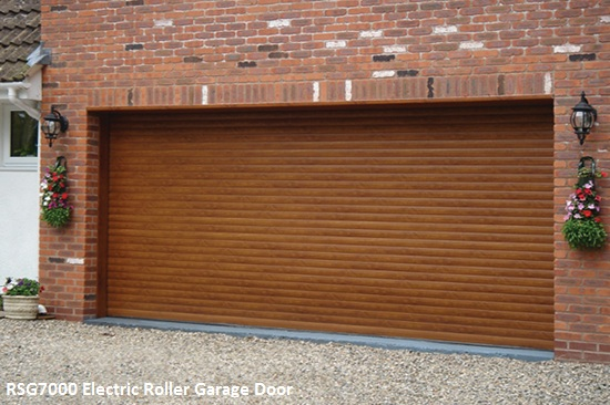 RSG7000 Etrically Operated Roller Shutter Garage Door