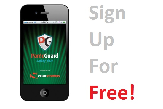 The PanicGuard App - Sign Up For Free