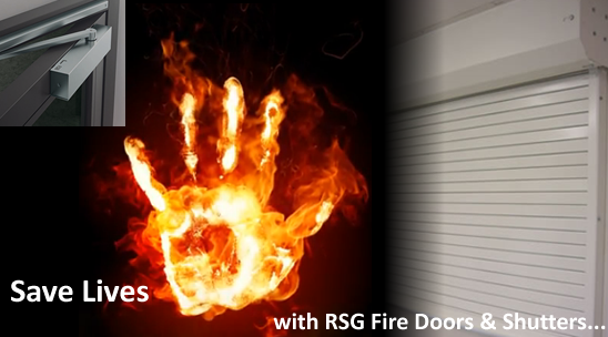 save lives with RSG fire doors and shutters