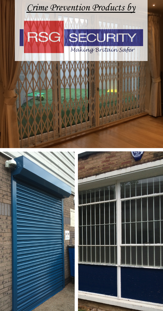 RSG Security products preventing crime on differet properties