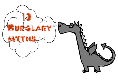 13 myths about burglars you should be aware of