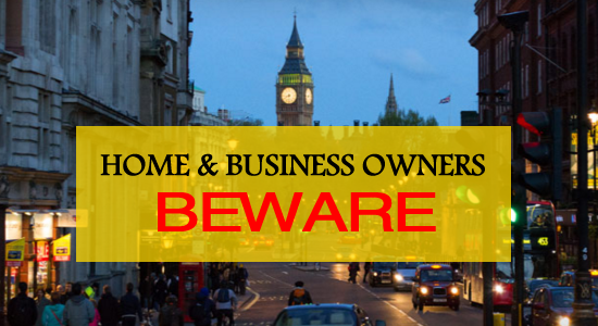 home and business owners beware following police funding cuts in London