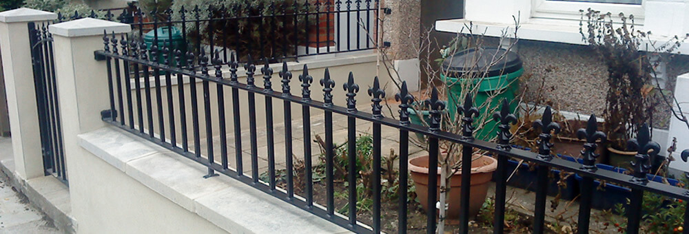RSG railings installed on residential property in Kensington