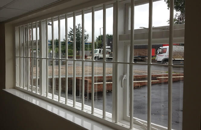 Burglar Bars For Windows : Rsg security bars strong window burglar system