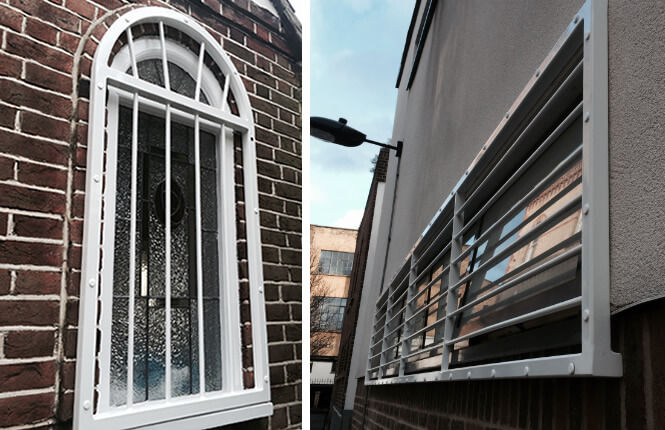 RSG2000 security window bars designed for specific applications.