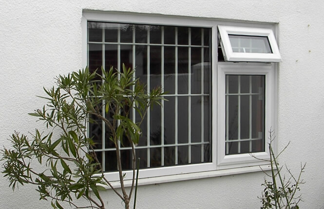 RSG2000 window bars securing residential property in Wembley.