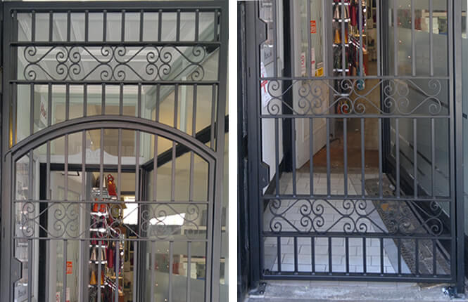 Rsg3000 Security Door Gates Residential Commercial Industrial