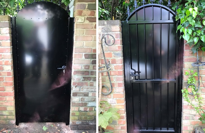 Superieur RSG3000 Security Garden Gate Installed To A Residence In Middlesex.