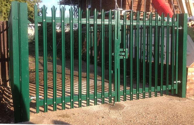 Rsg3600 Palisade Gates Amp Fencing