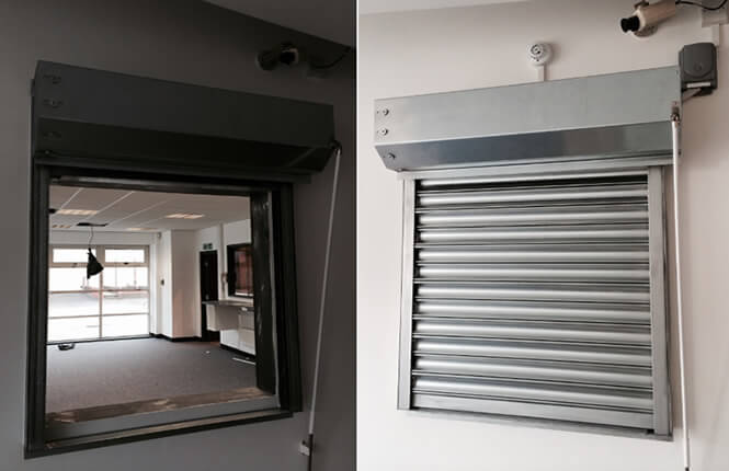 Fire Shutters Fire Resistant Roller Shutters Rsg5700 Fire Rated