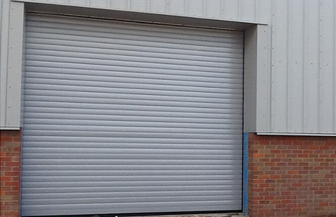RSG6000 3-Phase industruial security shutter in Middlesex.