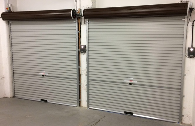 RSG7000 garage door security shutters fitted in London.