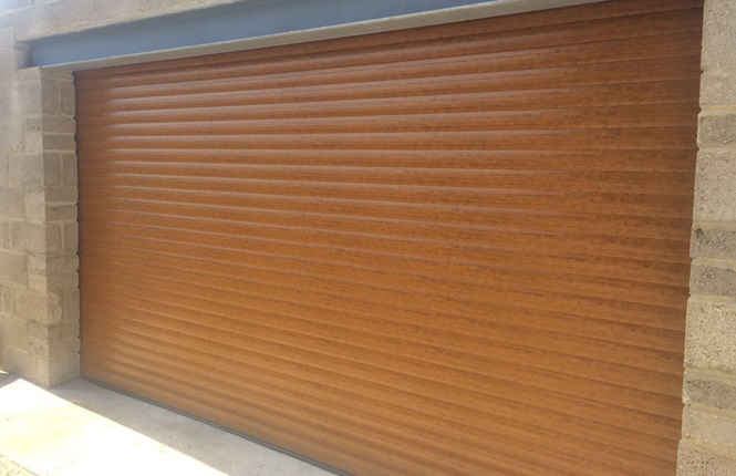 RSG7000 garage door shutters fitted to a project in Crystal Palace.