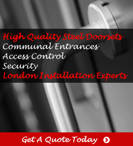 RSG8300 access control and communal doors installation