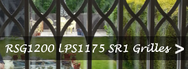 The product page of our LPS1175 SR1 security collapsible grilles