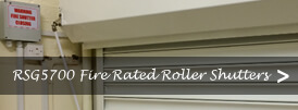 The product page of our fire rated roller shutters