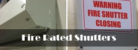 The product page of our fire rated shutters