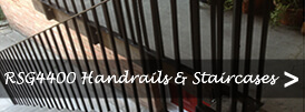 The product page of our handrails and staircases