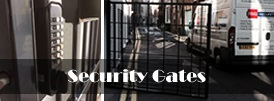 The product page of our security gates