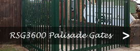 The product page of our palisade security gates