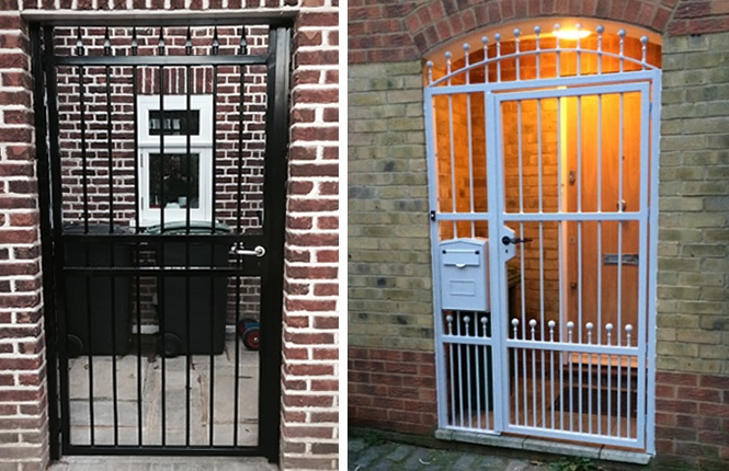 Rsg3000 Security Gates On Domestic Applications In Essex