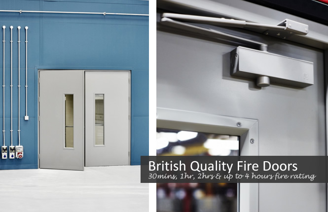 RSG8100 4 Hours fire rated entry steel doors.