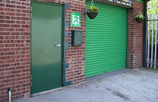 Steel security doors by rsg
