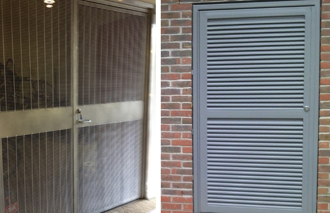 RSG8200 range of fully louvred \u0026 highly ventilated doorsets. & RSG8200 - Louvre Doors Steel Ventilated Doors \u0026 Fully Louvred Doors