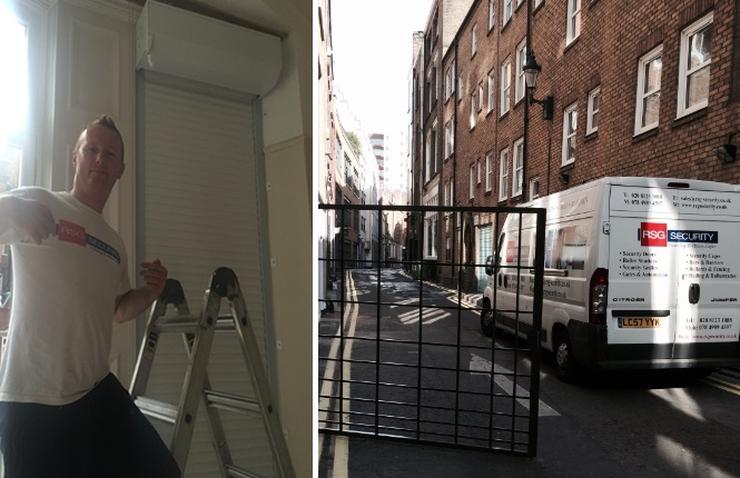 domestic shutters & commercial gates installations in Hammersmith & Soho.