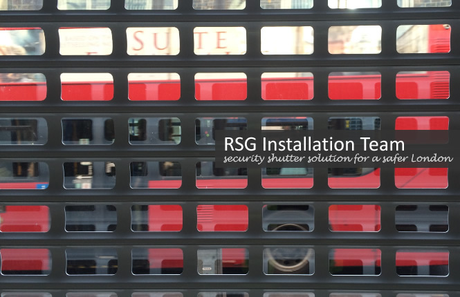 RSG security shutter solution for a safer London.